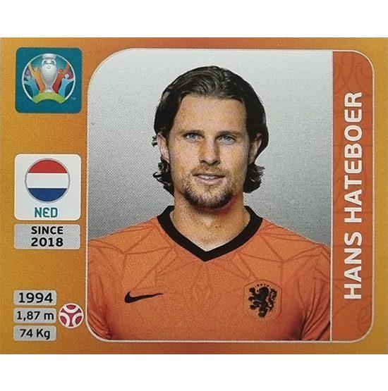 Panini EURO 2020 Sticker Nr 276 Hans Hateboer
