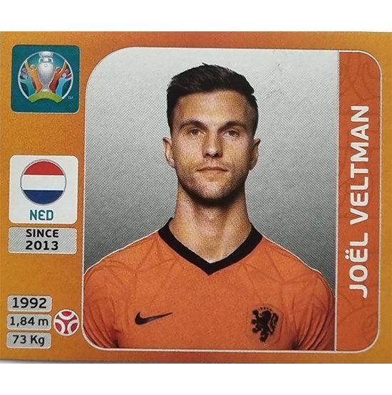 Panini EURO 2020 Sticker Nr 278 Joel Veltman