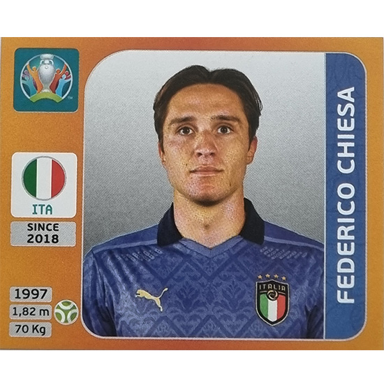 Panini EURO 2020 Sticker Nr 028 Federico Chiesa