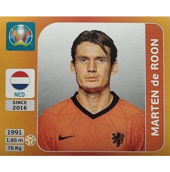 Panini EURO 2020 Sticker Nr 281 Marten de Roon