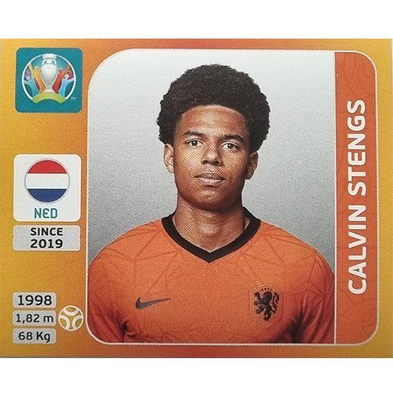 Panini EURO 2020 Sticker Nr 282 Calvin Stengs