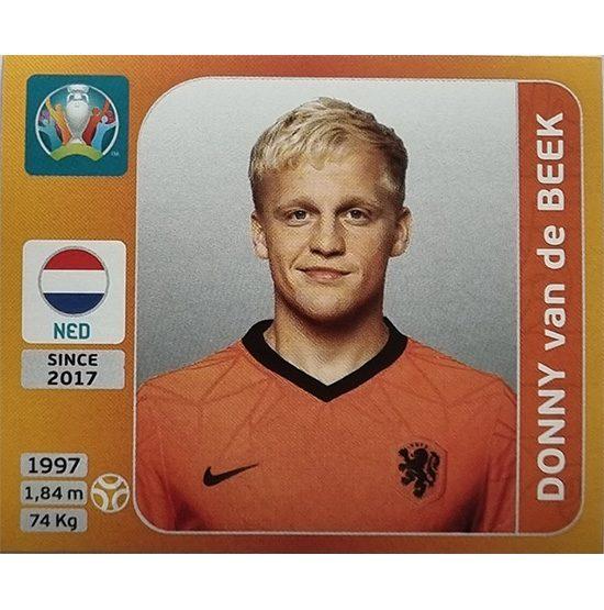 Panini EURO 2020 Sticker Nr 283 Donny van de Beek