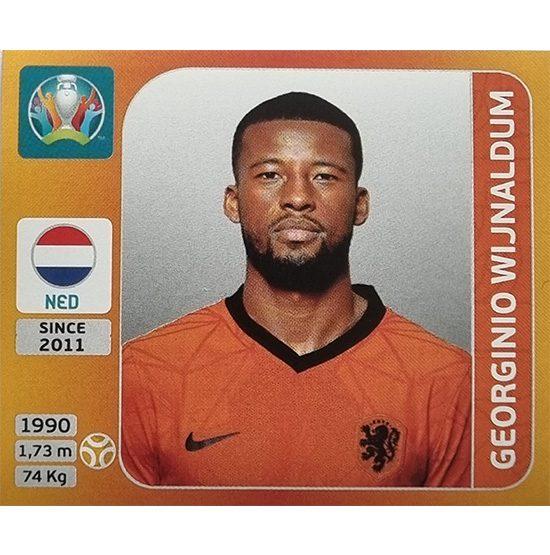 Panini EURO 2020 Sticker Nr 284 Georginio Wijnaldum