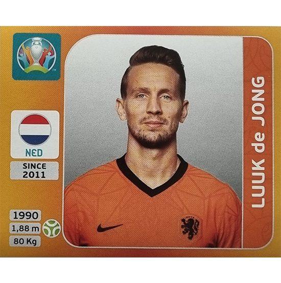 Panini EURO 2020 Sticker Nr 287 Luuk de Jong