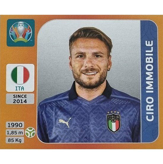 Panini EURO 2020 Sticker Nr 029 Ciro Immobile