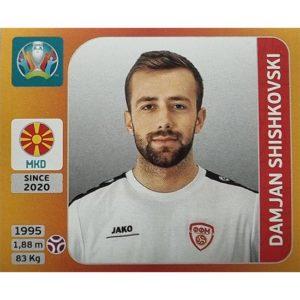 Panini EURO 2020 Sticker Nr 291 Damjan Shishkovski