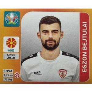 Panini EURO 2020 Sticker Nr 292 Egzon Bejtulai