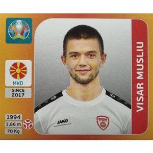 Panini EURO 2020 Sticker Nr 293 Visar Musliu