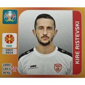 Panini EURO 2020 Sticker Nr 294 Kire Ristevski