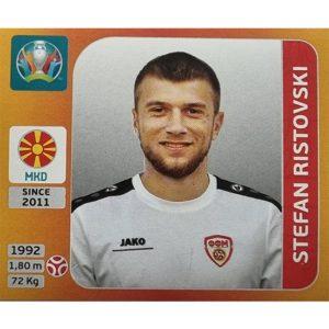 Panini EURO 2020 Sticker Nr 295 Stefan Ristovski