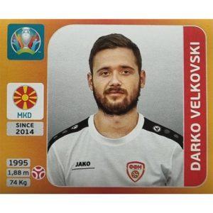 Panini EURO 2020 Sticker Nr 296 Darko Velkovski