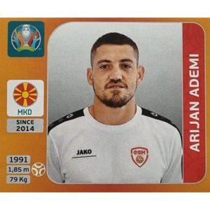 Panini EURO 2020 Sticker Nr 298 Arijan Ademi