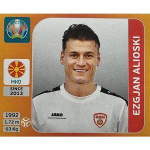Panini EURO 2020 Sticker Nr 299 Ezgjan Alioski