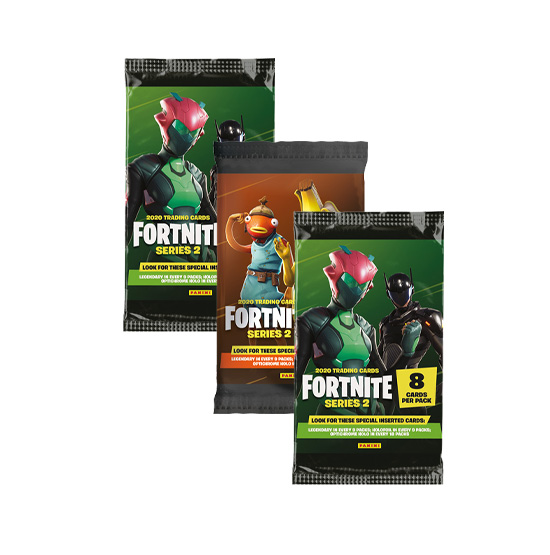 Panini Fortnite Series 2 - 3x Booster Trading Cards