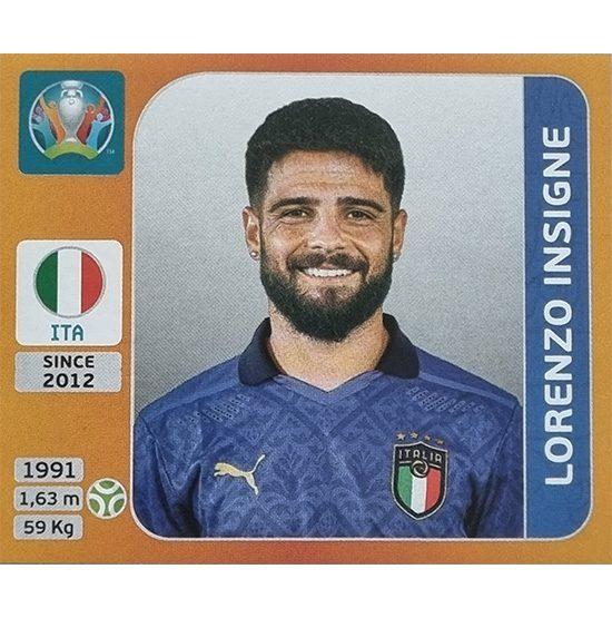 Panini EURO 2020 Sticker Nr 030 Lorenzo Insigne