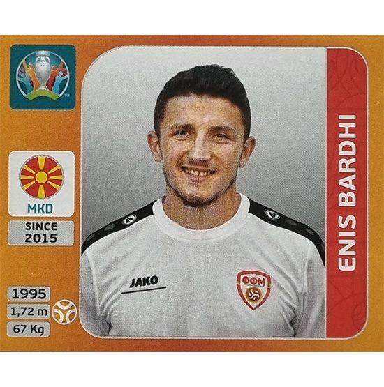 Panini EURO 2020 Sticker Nr 300 Enis Bardhi