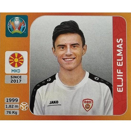 Panini EURO 2020 Sticker Nr 301 Eljif Elmas