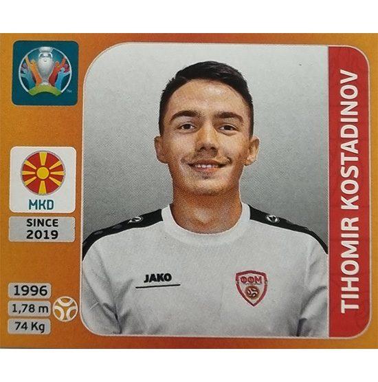 Panini EURO 2020 Sticker Nr 302 Tihomir Kostadinov