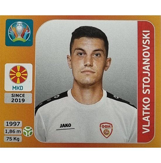 Panini EURO 2020 Sticker Nr 307 Vlatko Stojanovski