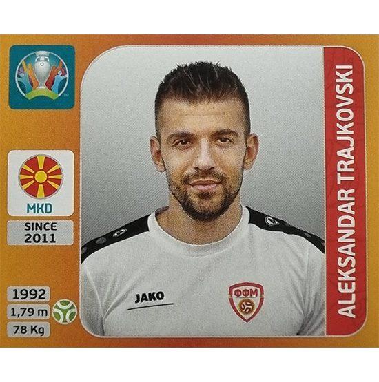 Panini EURO 2020 Sticker Nr 308 Aleksandar Trajkovski