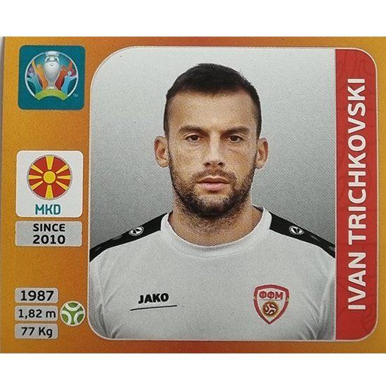 Panini EURO 2020 Sticker Nr 309 Ivan Trichkovski