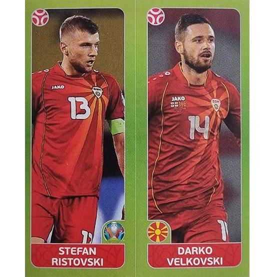 Panini EURO 2020 Sticker Nr 311 Ristovski Velkovski