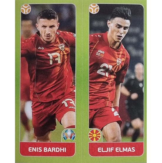 Panini EURO 2020 Sticker Nr 313 Bardhi Elmas