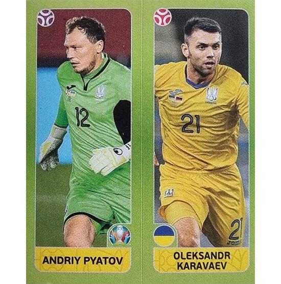 Panini EURO 2020 Sticker Nr 316 Pyatov Karavaev