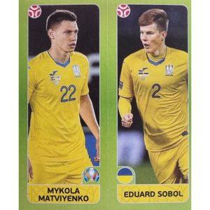 Panini EURO 2020 Sticker Nr 317 Matviyenko Sobol