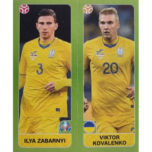 Panini EURO 2020 Sticker Nr 318 Zabarnyi Kovalenko