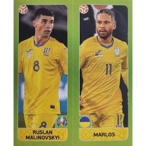 Panini EURO 2020 Sticker Nr 319 Malinovskyi Marlos