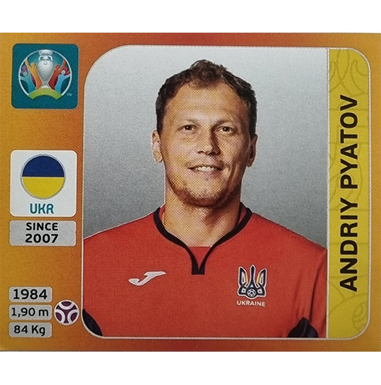 Panini EURO 2020 Sticker Nr 323 Andriy Pyatov