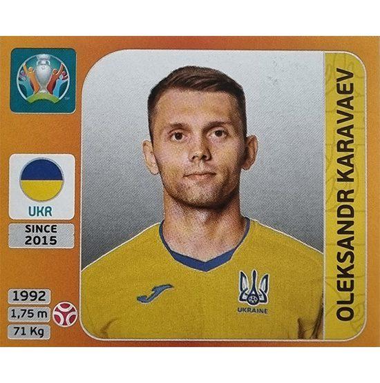 Panini EURO 2020 Sticker Nr 325 Oleksandr Karavaev
