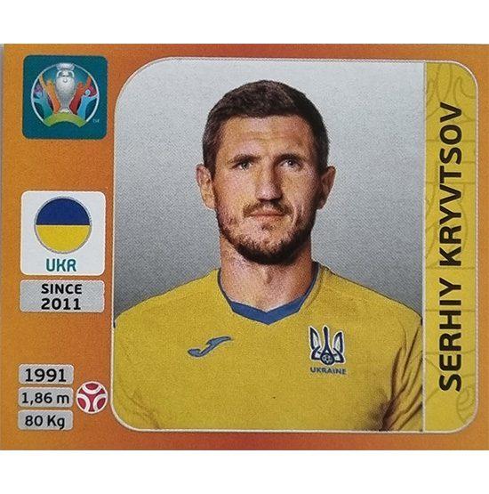 Panini EURO 2020 Sticker Nr 326 Serhiy Kryvtsov