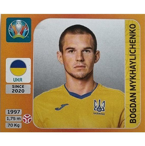 Panini EURO 2020 Sticker Nr 328 Bogdan Mykhaylichenko