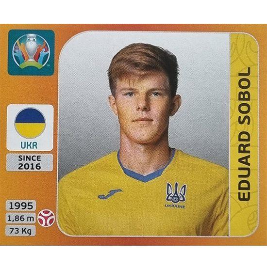 Panini EURO 2020 Sticker Nr 329 Eduard Sobol