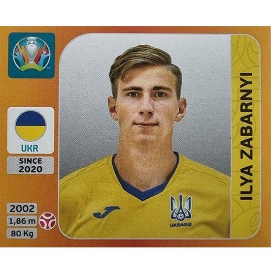 Panini EURO 2020 Sticker Nr 330 Ilya Zabranyi