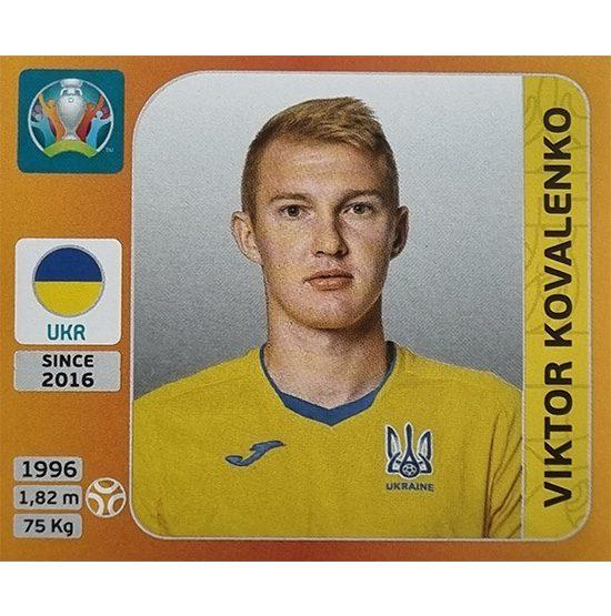 Panini EURO 2020 Sticker Nr 332 Viktor Kovalenko