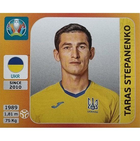 Panini EURO 2020 Sticker Nr 336 Taras Stepanenko