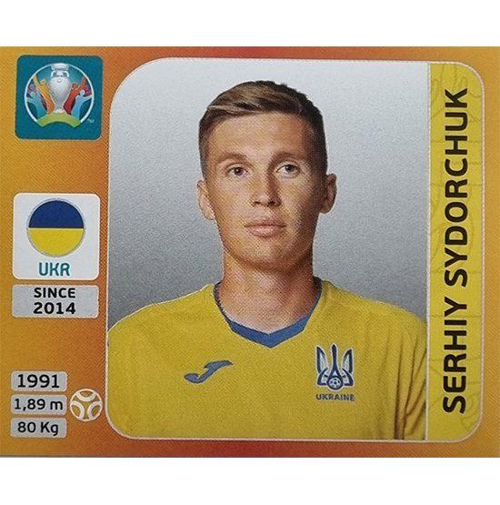 Panini EURO 2020 Sticker Nr 337 Serhiy Sydorchuk