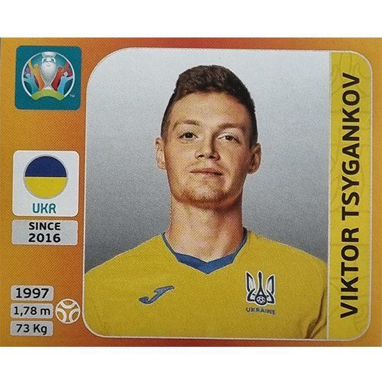 Panini EURO 2020 Sticker Nr 338 Viktor Tsygankov