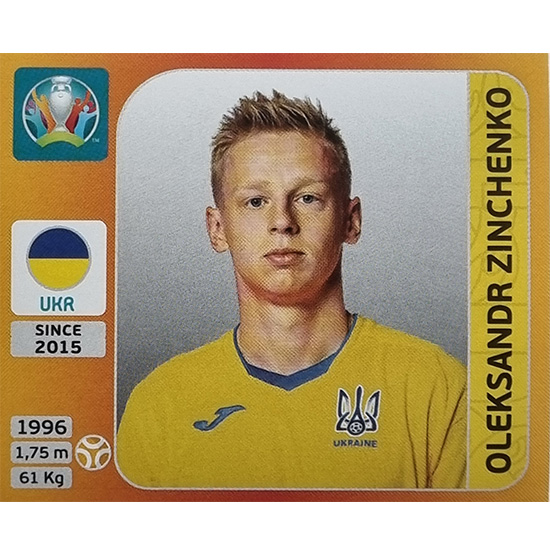 Panini EURO 2020 Sticker Nr 339 Oleksandr Zinchenko