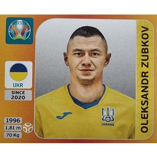 Panini EURO 2020 Sticker Nr 340 Oleksandr Zubkov