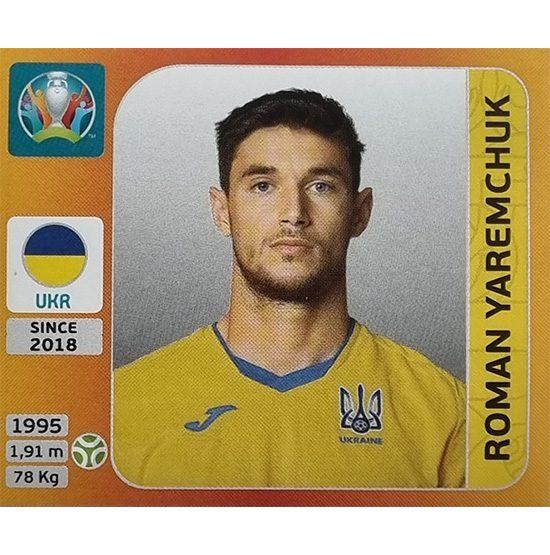 Panini EURO 2020 Sticker Nr 341 Roman Yaremchuk