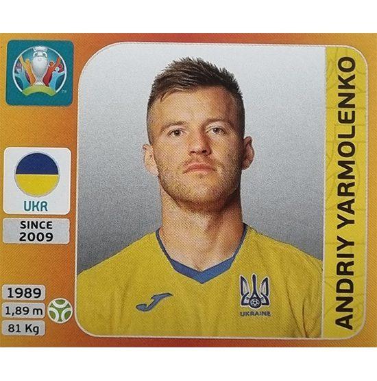 Panini EURO 2020 Sticker Nr 342 Andriy Yarmolenko