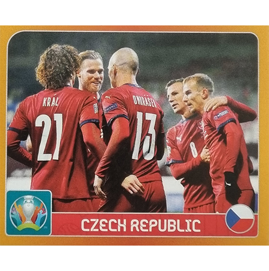Panini EURO 2020 Sticker Nr 344 Czech Republic