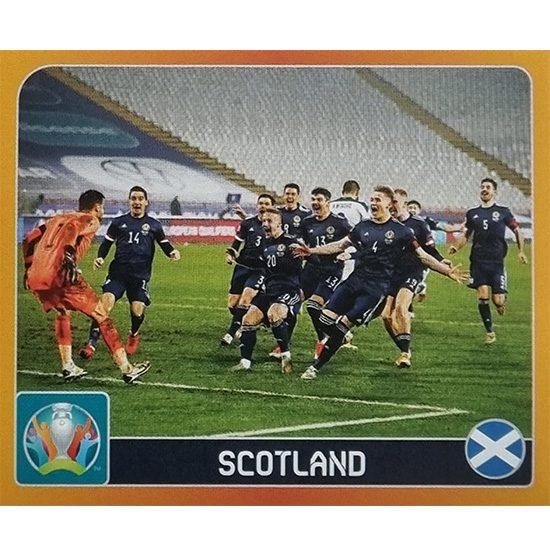 Panini EURO 2020 Sticker Nr 346 Scotland