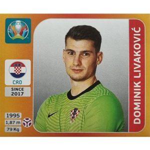 Panini EURO 2020 Sticker Nr 348 Dominik Livakovic