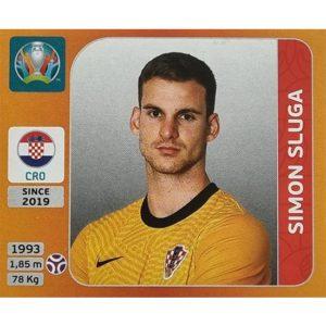 Panini EURO 2020 Sticker Nr 349 Simon Sluga