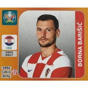 Panini EURO 2020 Sticker Nr 350 Borna Barisic